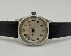 Rare Vintage Rolex Tudor Oyster Silver Dial Manual Wind Manand039s Watch