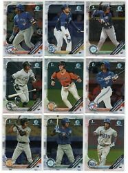2019 Bowman Prospect Paper And Chrome Set 300 Cards Candfbowmanset Wander Jrod