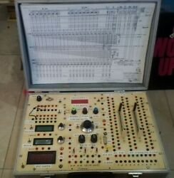 Control Desk Panel And Test Adapter Card Navy Electronics Historical