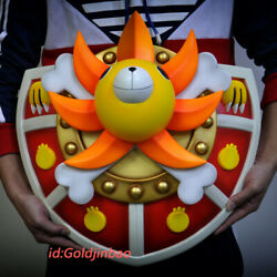 One Piece Thousand Sunny Wall Hanging Resin Model Painted Statue In Stock New