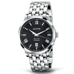 Menand039s Watch Eberhard Extra-fort Automatic Steel 41029.6 New And Original