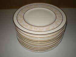 Mint Set 12 Villeroy And Boch Ivoire Bone China 7.1/8 Bread Snack Plate Used Once