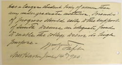 William Howard Taft / As Women's Suffrage Is Ratified The President Signed