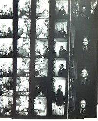 Langston Hughes Photo Session Original Contact Sheet By Noted African American