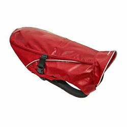 Portsmouth Foul Weather Rain Jacket For Dogs, Waterproof Dog Large Chili Red