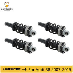 4x Front Rear Left And Right Air Suspension Shock Absorber For Audi R8 2007-2015
