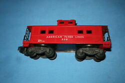 American Flyer 938 Red Painted Caboose