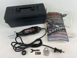 Craftsman Rotary Power Tool 572.610520 And Chain Saw Sharpening Kit 7136579 W/ Box