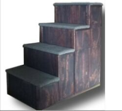 Pet Step 32 Inch Tall 32 Inch Deep 16 Wide 4 Step