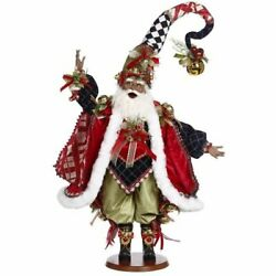 Mark Roberts 51-16330 African American Santa's Stocking 24 Inches