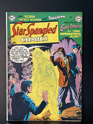 Star Spangled Comics 127 1941 Dc Feat. Robin, Tomahawk, And Ghost Breaker