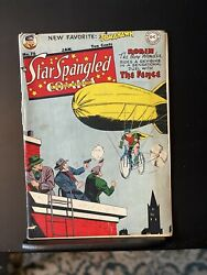 Star Spangled Comics 76 1941 Dc Feat. Robin And Tomahawk