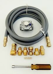 Natural Gas Ng Conversion Kit For Weber Genesis Ii E-410/se-410 Front Control