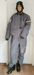 Romanian After Cold War 90's Air Force Winter Flying Suit Pilot Mig Overalls
