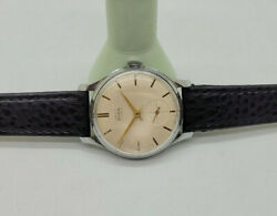Vintage Smiths Astral Silver Dial Manual Wind 5911 Man's Watch