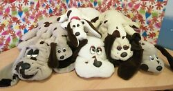 7 Pound Puppies Soft Toys Retro Vintage Collectables Yappy Mum Tummy Pouch