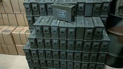 24 Pack 50 Cal And 30 Cal Ammo Cans, Genuine Us Military Surplus, Free Shipping