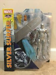 Marvel Diamond Select Silver Surfer Action Figure Infinity Gauntlet Mosc Vhtf