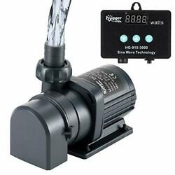 800gph Submersible Water Pump For Fish Tank Pond Fountain Sump Hydroponics