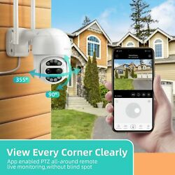 Heimvision Protect D1 Ptz Outdoor Security Camera Wifi Wireless Cam Night Vision