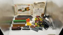Lot Mixed Vintage A.h.m. Model Trains Model Power Trackside Switch Crossing Set