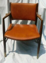 1962 Sikes Walnut Chair With Tag No 1954