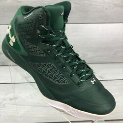 Under Armour Mens Clutchfit Drive 1258143 302 Green Basketball Shoes Size 10 $40.00