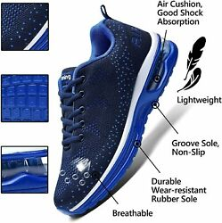 M Magper Menand039s Breathable Air Running Sneakers Lightweight Gym Athletic Tennis W