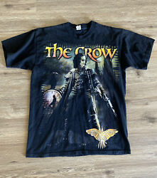 Vintage The Crow Movie Shirt Graphic Front And Back The Crow Salvation