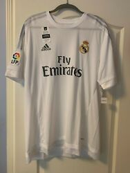 Adidas Real Madrid Official 2015 2016 Home Soccer Jersey Size 2xl Nwt