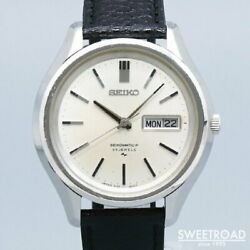 Seiko Matic-p Ref.5106-8020 Automatic Menand039s Watch 1969 Vintage Used Excellent