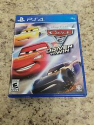 Sony Playstation 4 Ps4 - Cars 3 Driven To Win - Complete