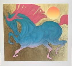Guillaume Azoulay Robuste Limited Edition Serigraph P.p. 1/15 Hand Signed Coa
