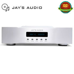 Jayand039s Audio Cdt2-mk3 Cd Turntable High-end Cd Player Ocxo 1764khz Silver X-top