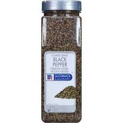 Mccormick 932403 Mccormick Culinary Coarse Ground Black Pepper 1lbs Container
