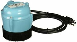 Little Giant 501003 1 115 Volt 205 Gph Oil-filled Small Submersible Pump