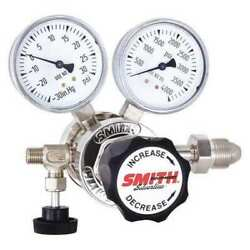 Miller Electric 221-0309 Specialty Gas Regulator, Single Stage, Cga-580, 0 To