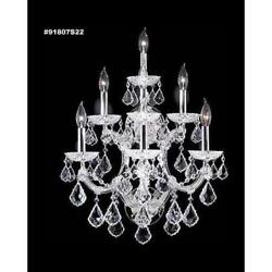 James R Moder 91807gl0t Maria Theresa 7 Light Wall Sconce