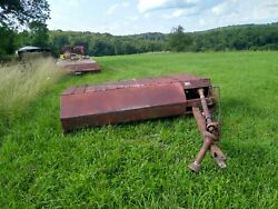 New Idea Haybine Cut Ditioner Cutditioner Farm Tractor Implement Pto Powered 270