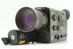 All Works [exc+5] Canon 1014xl-s Super 8 8mm Film Movie Camera From Japan M13