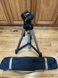 Ambico Model V-0552 Video Camera Tripod With Carrying Case