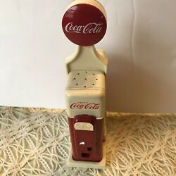Coca-cola Gas Pump Salt And Pepper Shakers 1993 Coca Cola Diner Collection