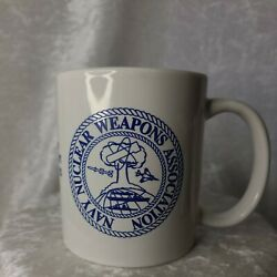 Us Navy Naval Nuclear Weapons Association Coffee Cup Mug