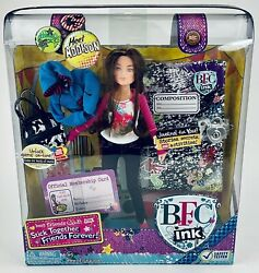 Bfc Ink Best Friends Club Ink Doll Addison Action Figure W Diary And Lock New
