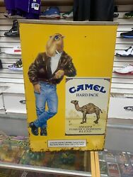 Vintage Joe Camel Stand-up Ashtray. Rare Piece See Pictures 1991