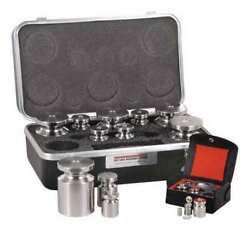 Rice Lake Weighing Systems 12579tr Calibration Weight Set,5 Lb. To 1/32 Oz.