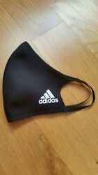 Adidas Face Mask Cover Black 3 pack 100% Authentic Adult Size Large