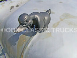 8x10 Photothe Death Proof Duck W/cigar Iconic Hood Ornament 1970's Movie
