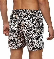 Mens Swim Trunks Short Quick-dry Swimming Trunks With Mesh Lining Fashion Trend