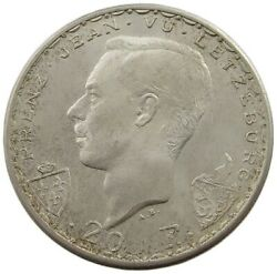 Luxembourg 20 Francs 1946 Top C48 3421